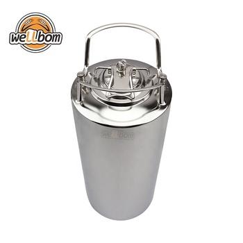New 19L 5 gallon cornelius ball lock keg stainless steel