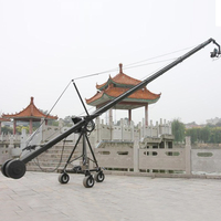 Heavy type 10m dslr video camera crane jib