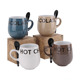 High quality colorful ceramic hot chocolate mug