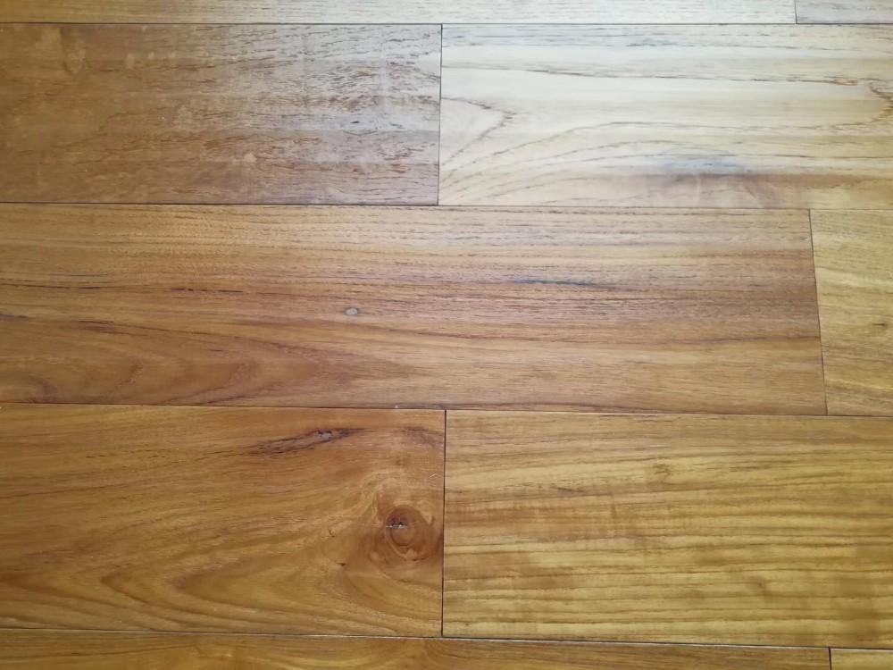Cd Grade Bright Color Teak Parquet Wood Timber Floor Varnish