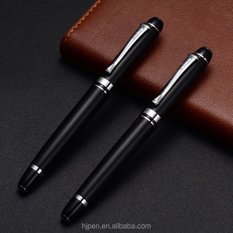 office stationery best cheap gel pens set black color bic ball pen