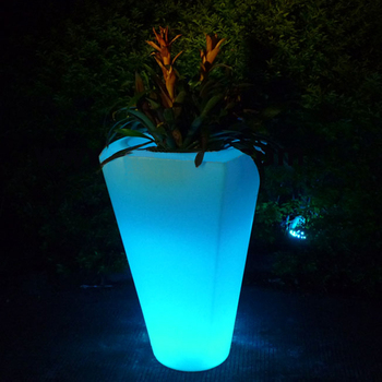 Multi-function Home decor LED flower pot