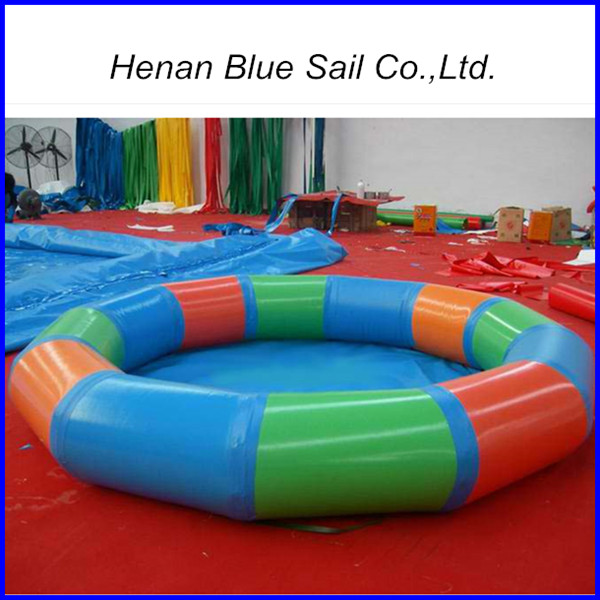 Inflatable swimming pool pvc pool large inflatable pool for Large swimming pools for sale