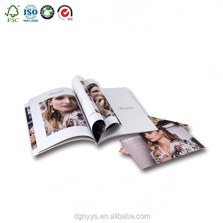 China professional printing monthly Professional magazine/flyers/brochure printing service
