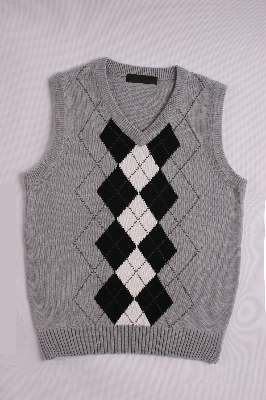 Mens Argyle Sweater