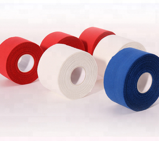 Colored Cotton athletic adhesive tape/medical zinc oxide plaster