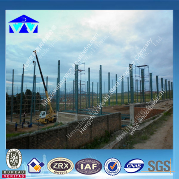 Prefabricated steel structure houses/warehouses/workshops