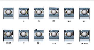 6204zz Bearing Size 20x47x14 6204 2z Steel Shielded Ball Bearing ...