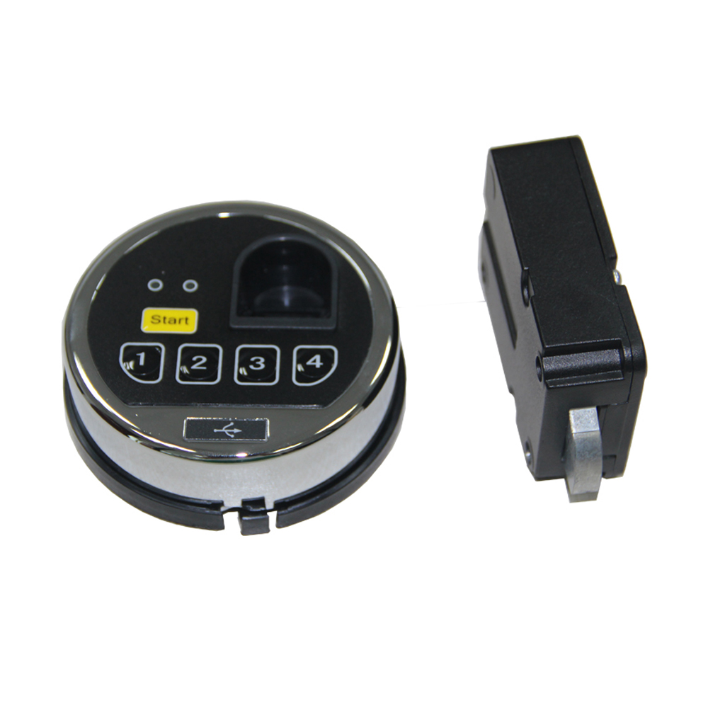 Electronic Keypad Lock And Fingerprint Lock For Security Safes
