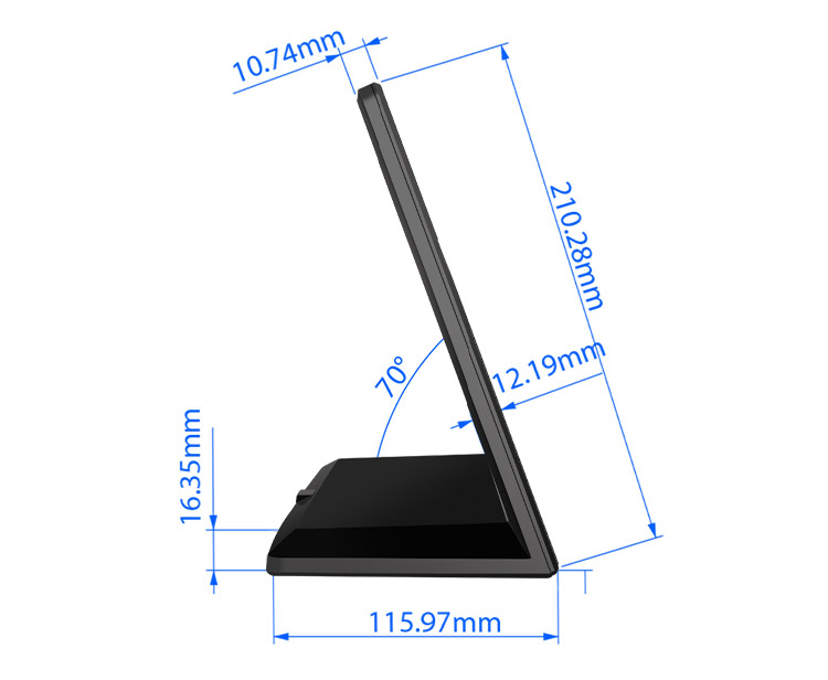 Custom new products 13 inch touch panel RK3368 1.5G wall mounted tablet pc