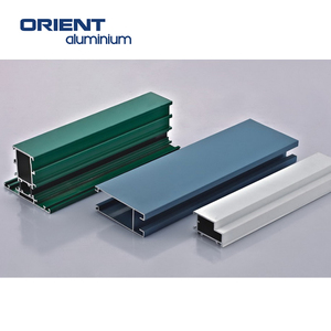anodizing aluminium profile for curtain walling glass works