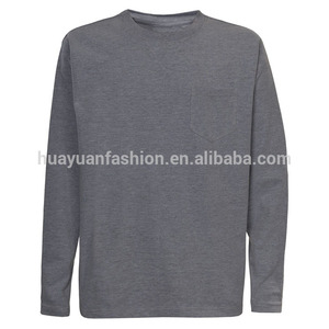 Supply 2015 latest men custom long sleeve nylon grey t shirt men --7 years alibaba experience