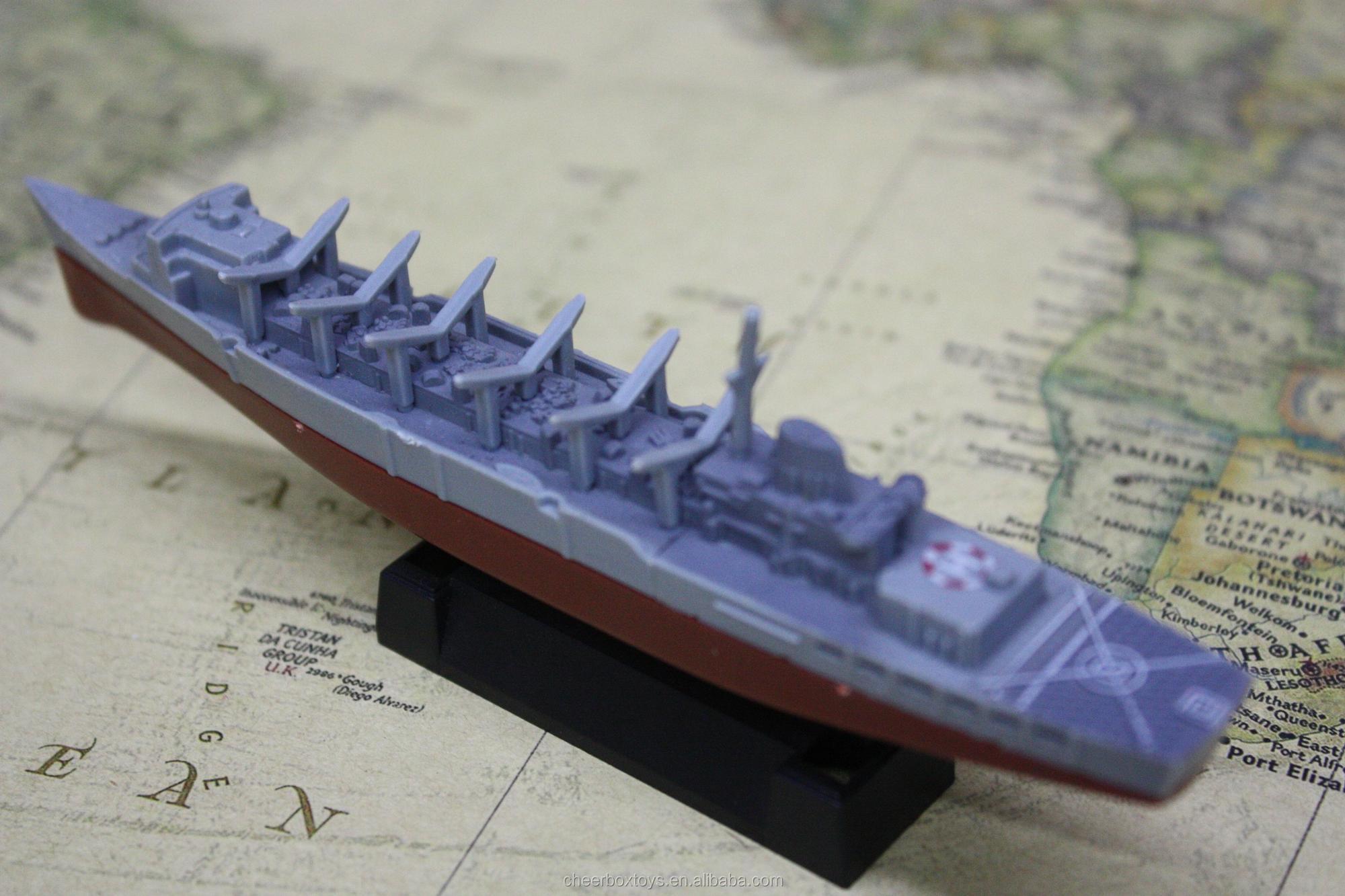 Tiny Warship Model Finger Assembly Toys Promotional Gifts mini models