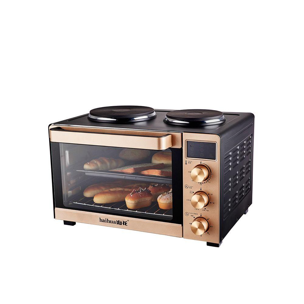 Haihua 35l peque os electrodom sticos cocina digital oro for Cocina encimera electrica