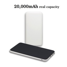 Universal slim rubber finished new royal power bank 20000mah