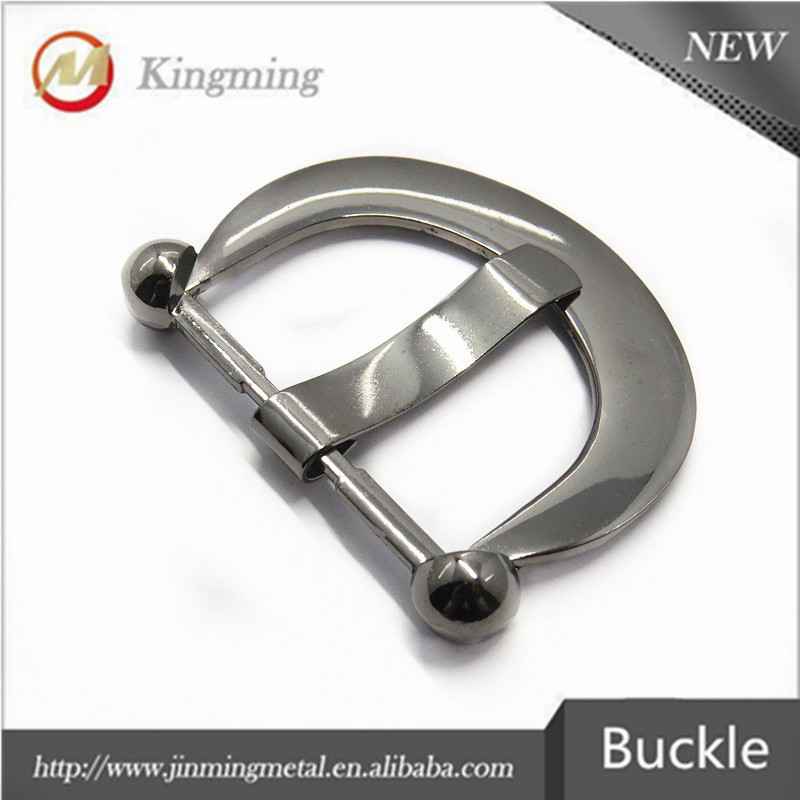 Popular Gunmetal Metal Reversible Belt Buckle Parts