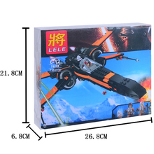 1set Building Blocks Super Heroes The Awakens Star Wars First Order Poe s X Wing Star