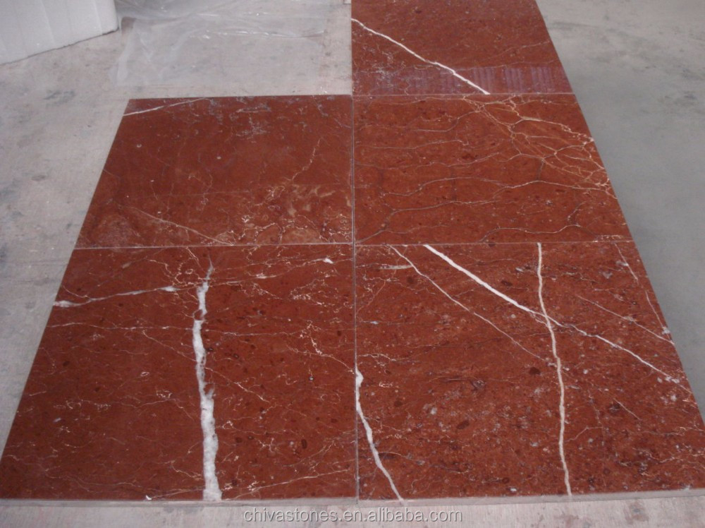 Rosso Alicante Marble Tiles Red Marble Slabs For Flooring/wall Tiles ...