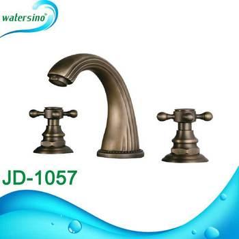 Oil Rubbed Bronze Color Basin Faucet Antique Brass Bathroom Faucet