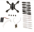 Hubsan X4 H107L crash pack H107L Body battery propeller rc spare parts quadcopter spare kits freeshipping