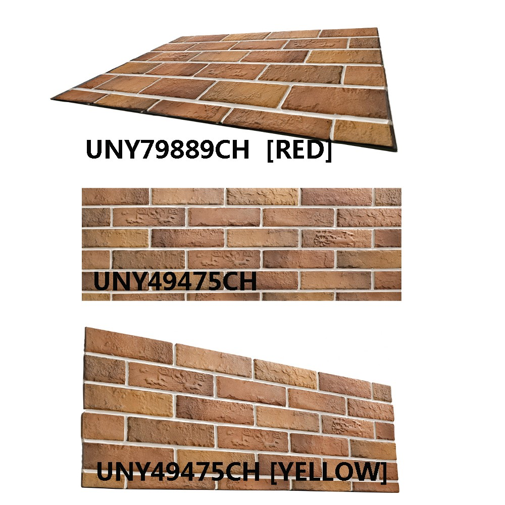 House Building Material Fired Clay Thin Brick Wall Tiles Wall Brick Cladding Tiles Exterior Clay