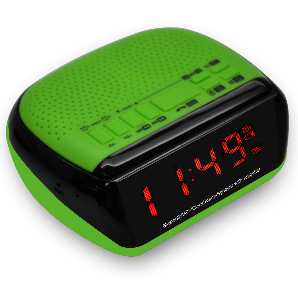 Specialised Promotional Gift Digital Clock Radio With Night Light
