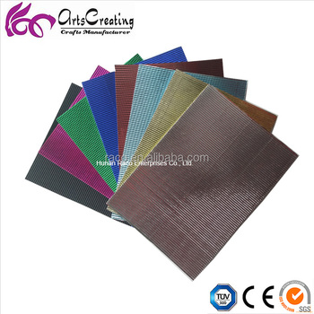 Metallic Corrugated Craft Color Paper Corrugated Paper Sheet Roll