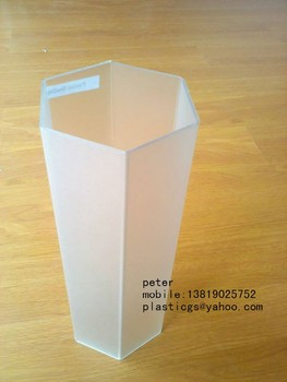Clear Hexagon Tube Pipe Buy Clear Hexagon Tube Pipe