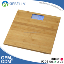 Whole bamboo platform design bamboo digital scales electronic weighing scale