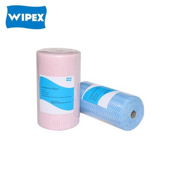 hangzhou disposable spunlace non-woven wipe cloth for floor cleaning manufacturer in China