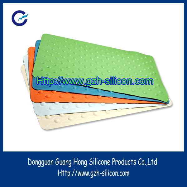 Selling anti-slip silicone rubber shower mat