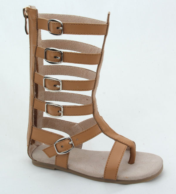 bb0306952155 wholesale cheap roman knee high boot kids gladiator sandals