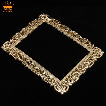 China Manufacturing Gold Square Bulk Plastic Frames Decorative Plastic  Mirror Frames Plastic Caps For Bed Frame - Buy Plastic Caps For Bed