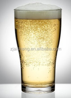 American Fashionable First Rate High Quality food grade Clear Plastic Beer Glass Bpa free