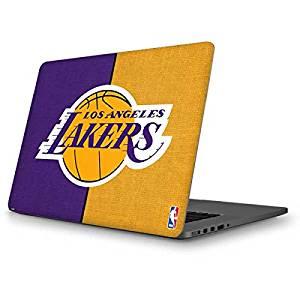 NBA Los Angeles Lakers MacBook Pro 13 (2013-15 Retina Display) Skin - Los Angeles Lakers Canvas Vinyl Decal Skin For Your MacBook Pro 13 (2013-15 Retina Display)