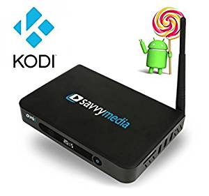 Savvy Media Box – SMB1 Amlogic S812 Quad Core 2G/16GB Kodi XBMC 16.1 Streaming Player FULLY LOADED 4K Android 5.1 Lollipop OS TV Box