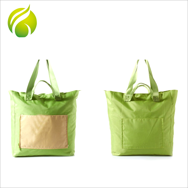 Professional factory supply eco friendly waterproof polyester foldable shopping bags