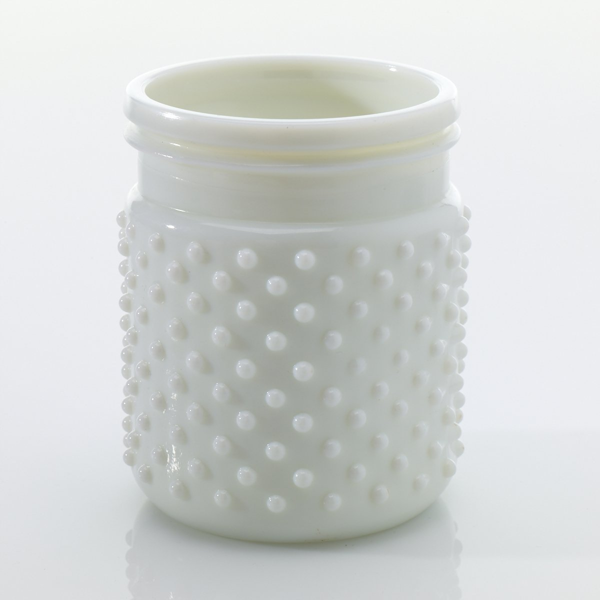 Cheap milk glass cookie jar find milk glass cookie jar deals on get quotations vintage hobnail white milk glass jar candle holder antique small pack of 24 floridaeventfo Gallery