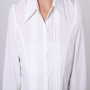 Latest Fancy Office Ladies White Shirt Ladies Office Shirt - Buy ...