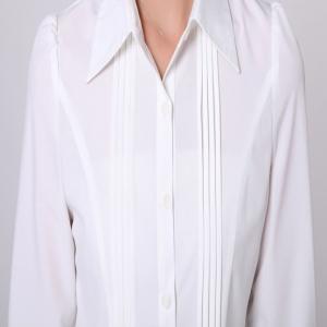 Latest Fancy Office Ladies White Shirt Ladies Office Shirt - Buy ...
