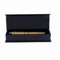 Gift Packaging Cheap Black Triangle Presentation Pen Box