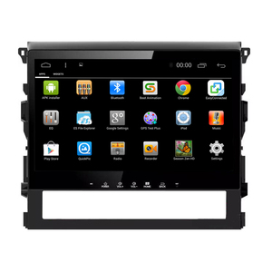 touch screen android car DVD radio for Land Cruiser 2016 with bluetooth FM AM