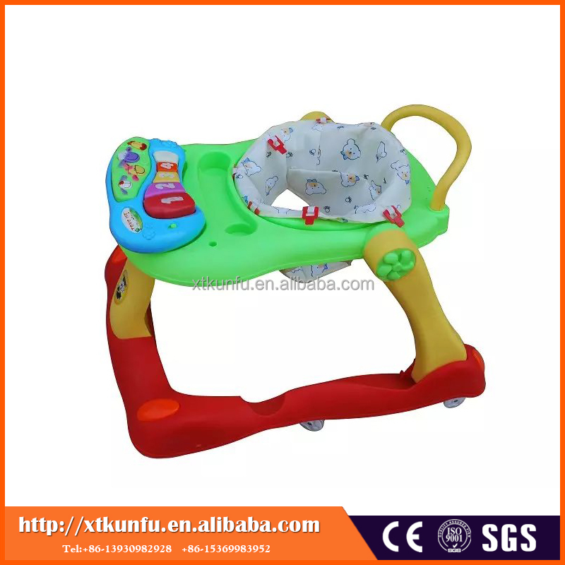 wholesale new model 2 in 1 baby walker with rocker with Rotating Wheel Toy Play