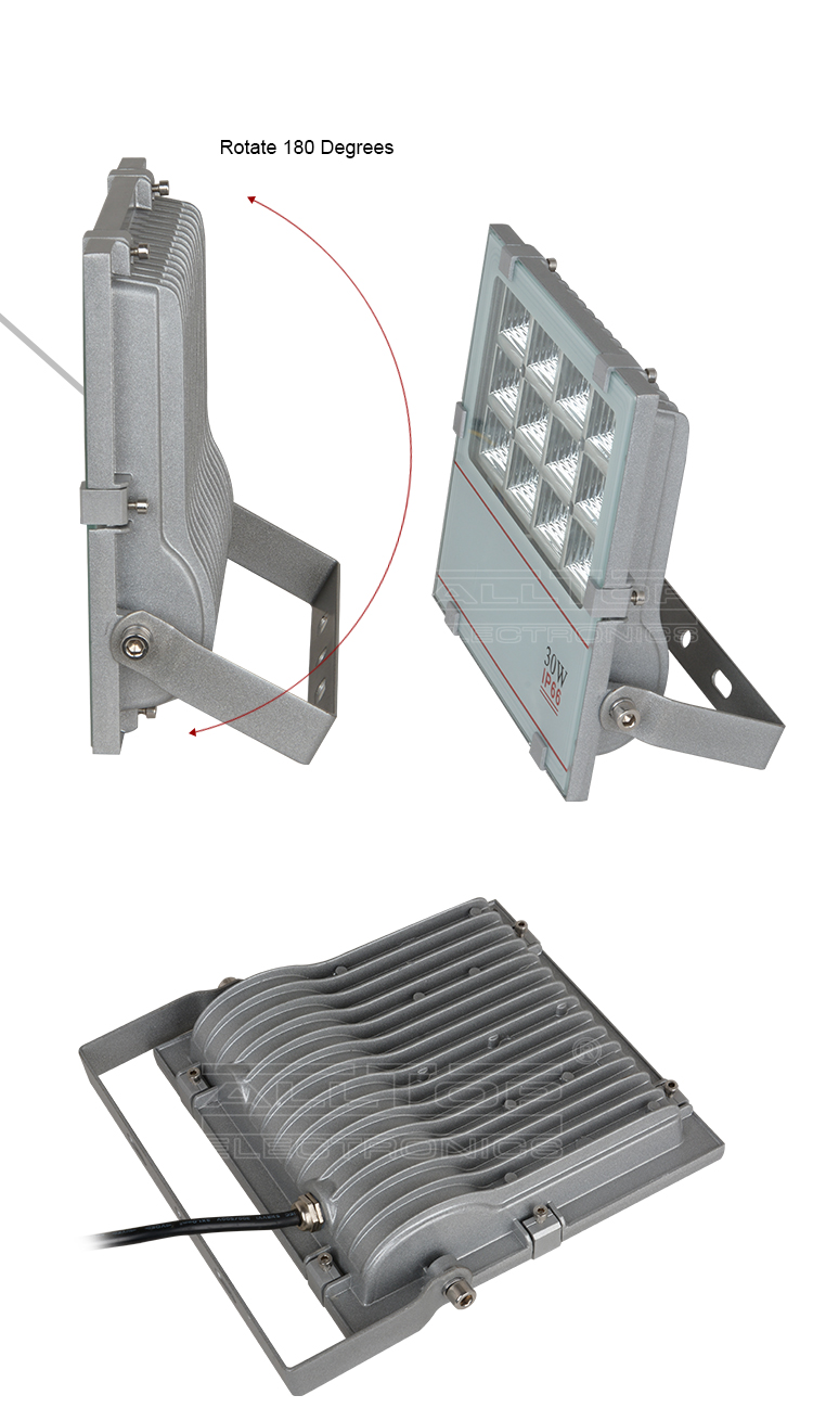 30w high lumen explosion proof portable smd led slim flood light