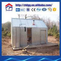 Prefabricated steel tiny house with indonesia steel trading companies