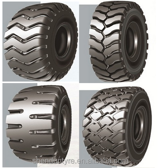L5S OTR tyres Suitable to scrapers,loaders,graders,excavators,bulldozers on relatively poor road surface in areas like mining ar