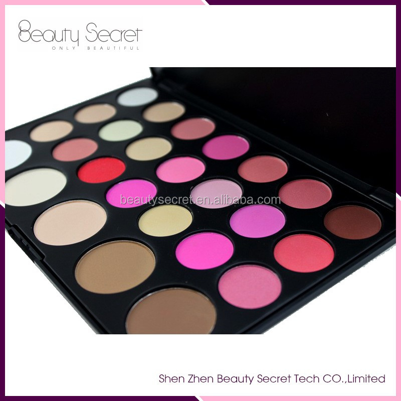 Manly cosmetics 26 color makeup palette of blusher