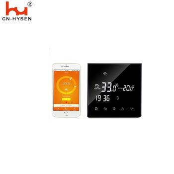 Hysen EU Standard Wifi Smart Radiant Water Heating Programmable Remote Control Thermostat