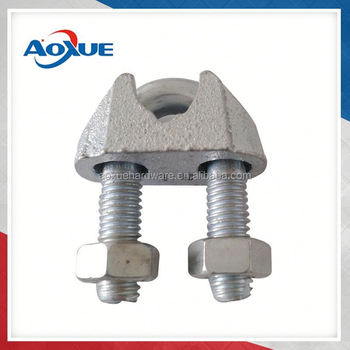 Din 741 Cable Wire Rope Clips /pipe Clamp
