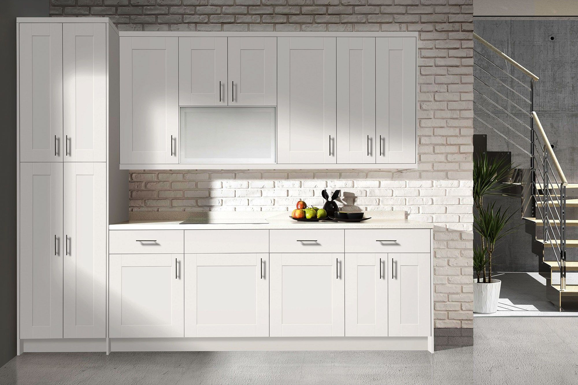 Wholesale Shaker Style White Kitchen Cabinet Door Buy Kitchen Cabinet Door Shaker Style Curved Kitchen Cabinet Doors White Melamine Kitchen Cabinet Door Product On Alibaba Com